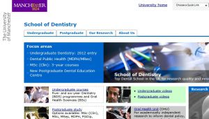 School of Dentistry (University of Manchester)