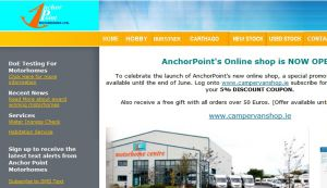 Anchor Point Motorhomes Ireland : Motorhome and campervan sales in Ireland