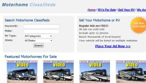 Motorhomes For Sale - Free Motorhome Classifieds