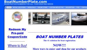 Official website : http://www.boatnumberplate.com