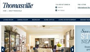 The thomasville com official website