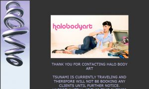 Official website : http://www.halobodyart.com