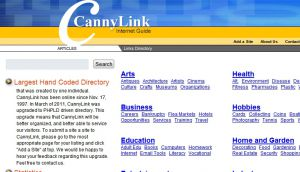 The Canny Link Internet Guide Link Directory