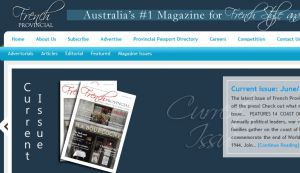Official website : http://frenchprovincialmag.com.au