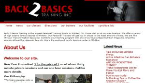 Official website : http://www.back2basicstraining.com