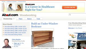 Official website : http://woodworking.about.com
