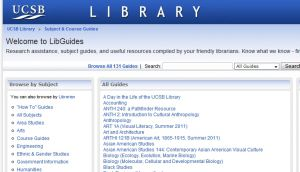 Official website guides.library.ucsb.edu
