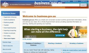 Official website : http://www.business.gov.au