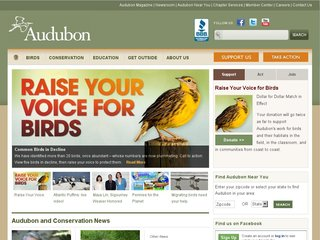 Official website : http://www.audubon.org