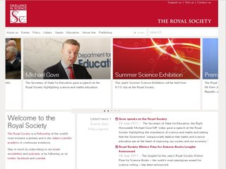 Official website : http://royalsociety.org