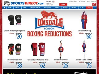 Official website : http://www.sportsdirect.com