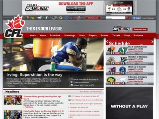 CFL.ca - Official Site of the Canadian Football League