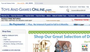 Official website : http://www.toysandgamesonline.com