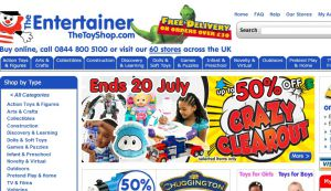 Official website : http://www.thetoyshop.com