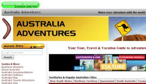 Official website : http://www.australiaadventures.com