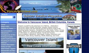 Vancouver Island & Victoria BC Tourism, Travel, Lodging, Hotels: British Columbia