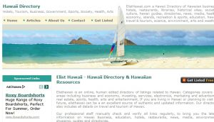 Site Officiel : Hawaii Directory - Hawaiian Business Economy Tourism Directory