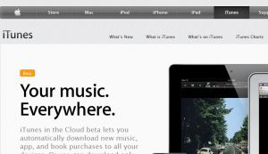 The itunes apple com official website