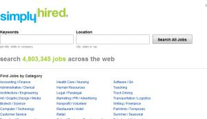 Official website : http://www.simplyhired.com