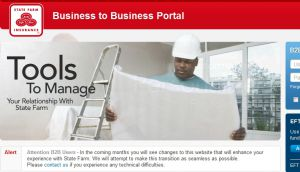 The b2b statefarm com official website