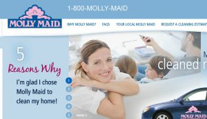 Official website : http://www.mollymaid.com