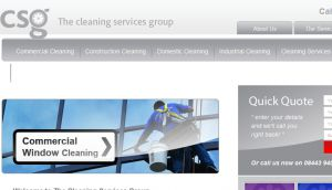 Official website : http://www.thecleaningservicesgroup.co.uk