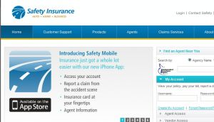 Official website : http://www.safetyinsurance.com