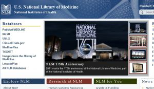 Official website : http://www.nlm.nih.gov