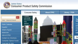 Official website : http://www.cpsc.gov