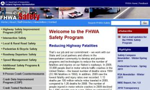 Official website : http://safety.fhwa.dot.gov