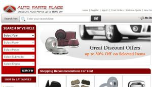 Official website : http://www.autopartsplace.com