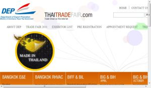 Official website : http://www.thaitradefair.com
