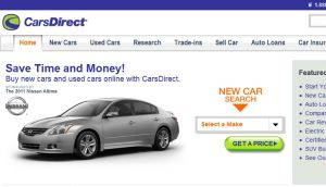 Official website : http://www.carsdirect.com