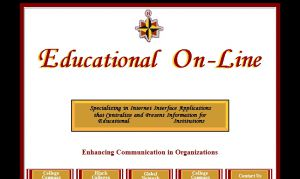 Site Officiel : Educational On-Line Home Page