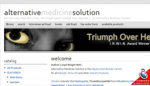 Official website : http://alternativemedicinesolution.com
