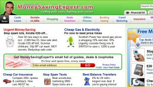 Official website : http://www.moneysavingexpert.com