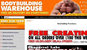 Official website : http://www.bodybuildingwarehouse.co.uk